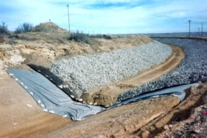 Canal Repair and Slope Stabilization